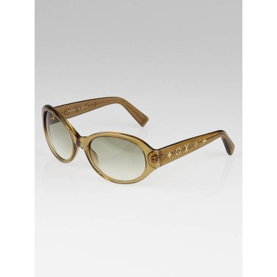 Louis Vuitton Gold Speckling Obsession Carre Sunglasses- Z0032W