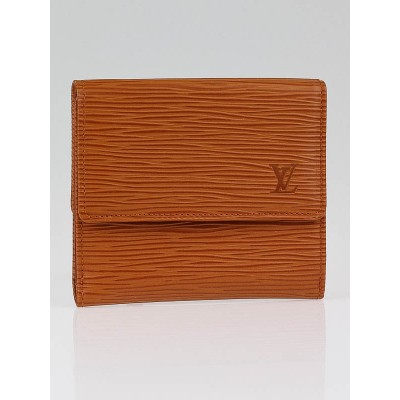 Louis Vuitton Cipango Gold Epi Leather Elise Wallet