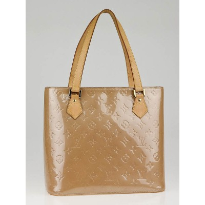 Louis Vuitton Noisette Monogram Vernis Houston Bag