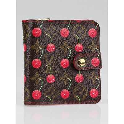 Louis Vuitton Monogram Cerises Compact Zippy Wallet