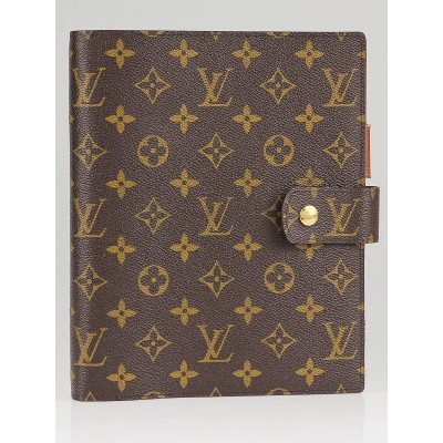 Louis Vuitton Monogram Canvas Large Agenda/Notebook