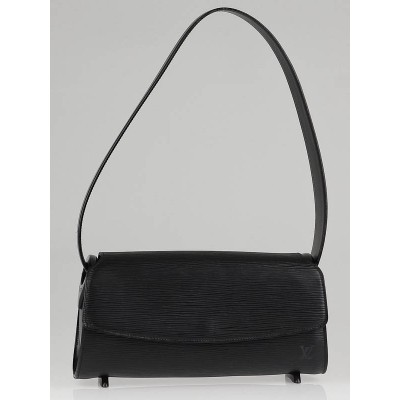 Louis Vuitton Black Epi Leather Nocturne Bag