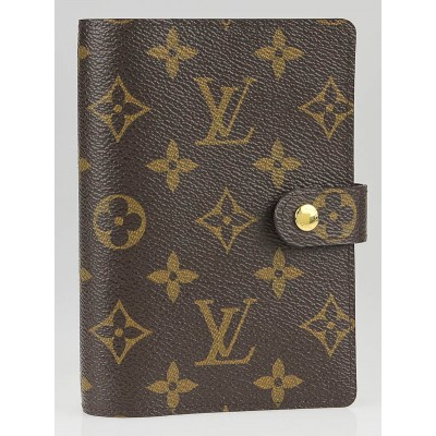 Louis Vuitton Monogram Canvas Small Agenda/Notebook