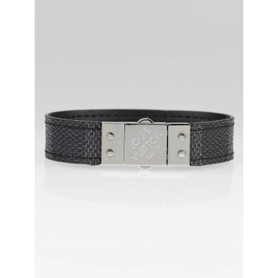Louis Vuitton Damier Graphite Check-It Bracelet