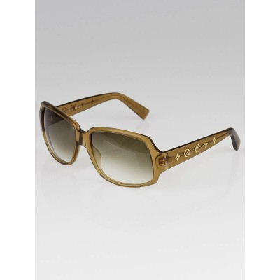 Louis Vuitton Honey Speckling Acetate Frame Obsession GM Sunglasses