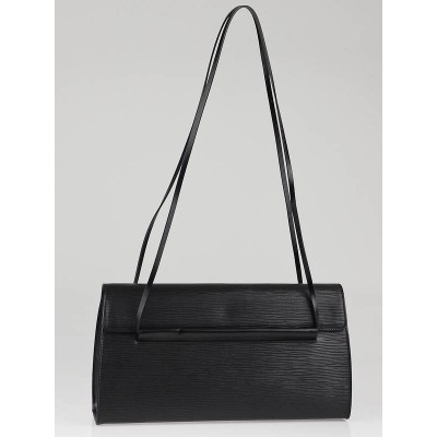 Louis Vuitton Black Epi Leather Small Shoulder Bag