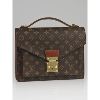 Louis Vuitton Monogram Canvas Monceau 28 Briefcase Bag