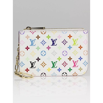 Louis Vuitton White Monogram Multicolore Keys Holder