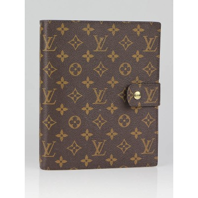 Louis Vuitton Monogram Canvas Large Ring Agenda/Notebook