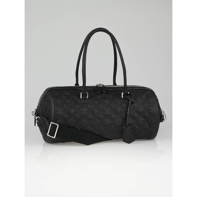 Louis Vuitton Limited Edition Black Monogram Revelation Neo Papillon GM Bag