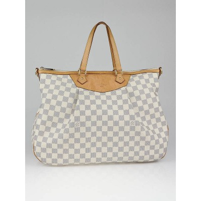 Louis Vuitton Damier Azur Canvas Siracusa GM Bag w/o Strap