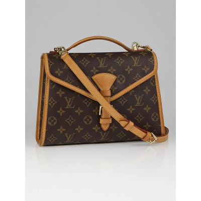 Louis Vuitton Monogram Canvas Beverly PM Briefcase Bag