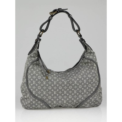 Louis Vuitton Platine Monogram Mini Lin Manon MM Bag