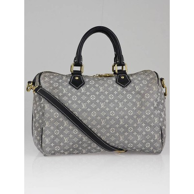 Louis Vuitton Encre Monogram Idylle Speedy Bandouliere 30 Bag