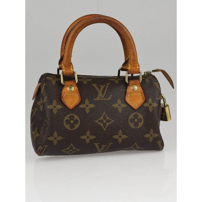 Louis Vuitton Vintage Monogram Canvas Mini Sac HL Bag