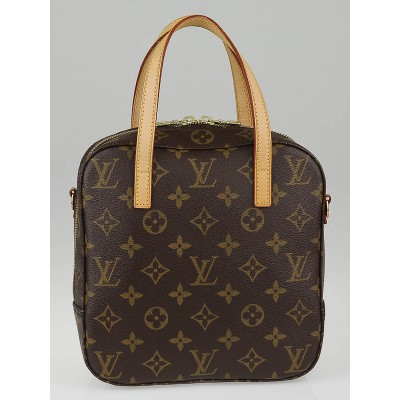 Louis Vuitton Monogram Canvas Spontini Bag w/o Strap