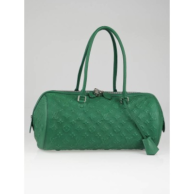 Louis Vuitton Limited Edition Green Monogram Revelation Neo Papillon GM Bag