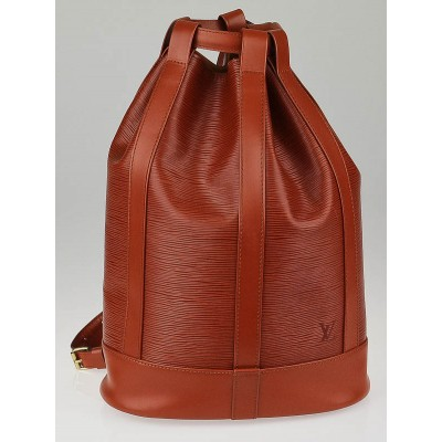 Louis Vuitton Fawn Epi Leather Randonnee PM Bag