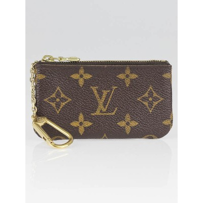 Louis Vuitton Monogram Canvas Pochette Cles Key Pouch