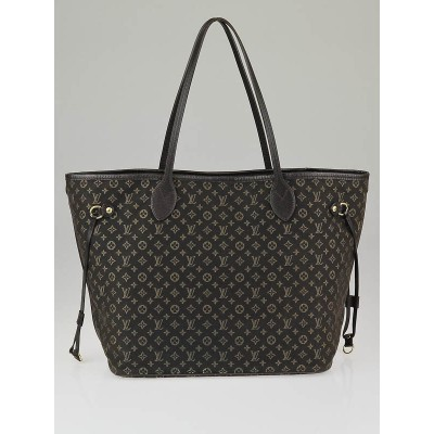 Louis Vuitton Fusain Monogram Idylle Canvas Neverfull MM Bag