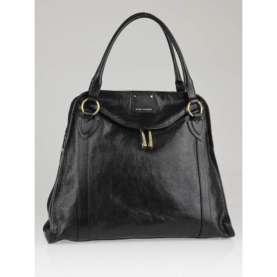 Marc Jacobs Black Leather Wellington Satchel Bag