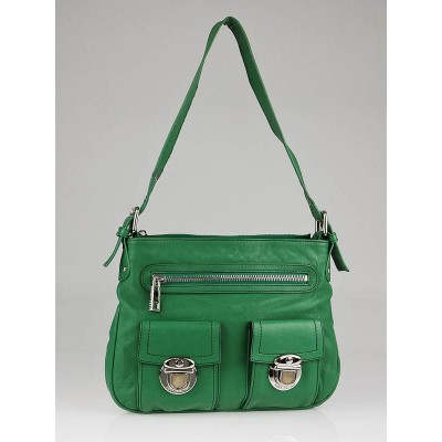 Marc Jacobs Green Calfskin Leather Sophia Bag