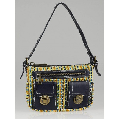 Marc Jacobs Multicolor Tweed Mini Sophia Shoulder Bag