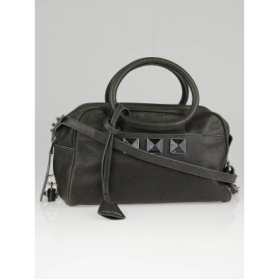 Marc Jacobs Charcoal Leather Carter Jr. Bag