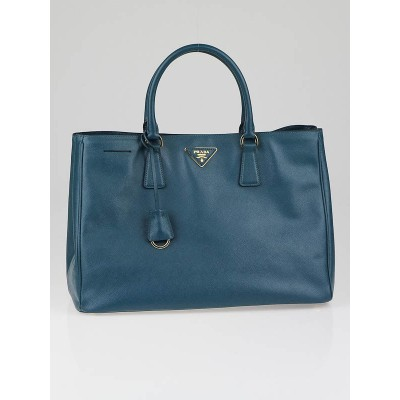 Prada Ottanio Saffiano Leather Lux Tote Bag BN1844