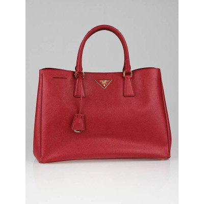 Prada Fuoco  Saffiano Lux Leather Tote Bag BN1844