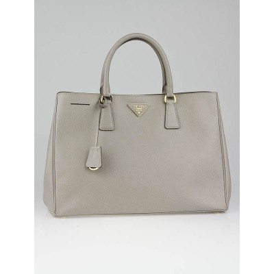 Prada Pomice Saffiano Lux Leather Tote Bag BN1844