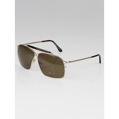 Tom Ford Goldtone Metal Frame Felix Sunglasses-TF194