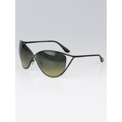 Tom Ford Black Metal Frame Narcissa Sunglasses-TF129