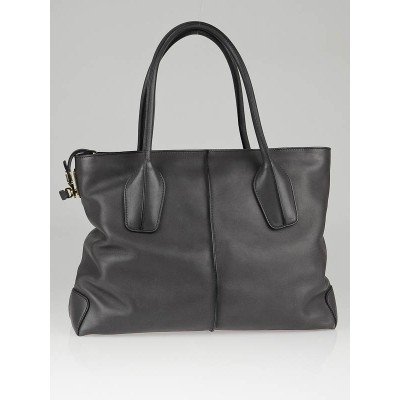 Tod's Shadow Leather D-Styling Manici New Grande Large Tote Bag