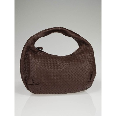 Bottega Veneta Brown Intrecciato Woven Leather Medium Belly Bag