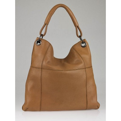 Bottega Veneta Beige Cervo Leather Shoulder Bag