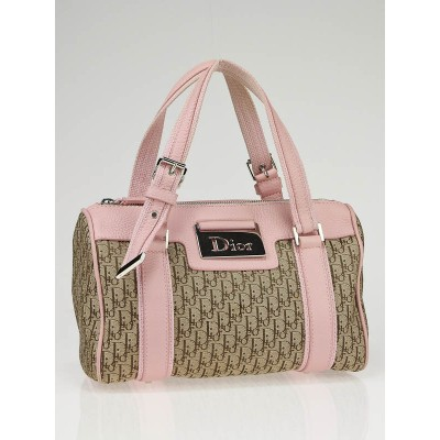 Christian Dior Pink Diorissimo Small Boston Bag