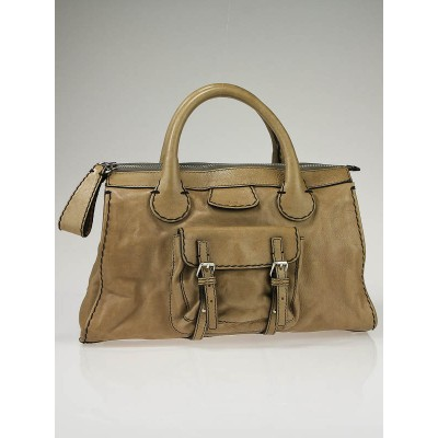 Chloe Mastic Leather Edith Satchel Bag