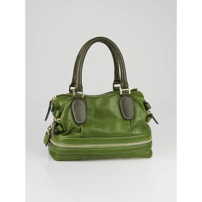 Chloe Eucalyptus Leather Andy Shopper Bag
