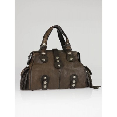 Chloe Souris Leather Silverado Large Satchel Bag
