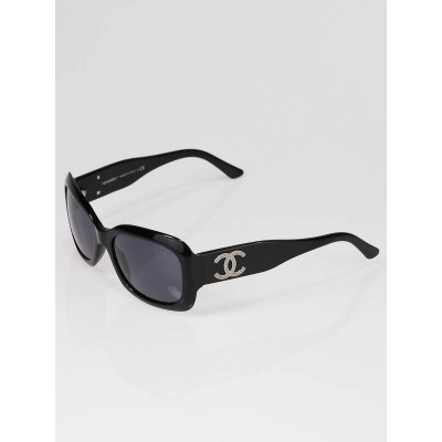 Chanel Black CC Logo Sunglasses 5102