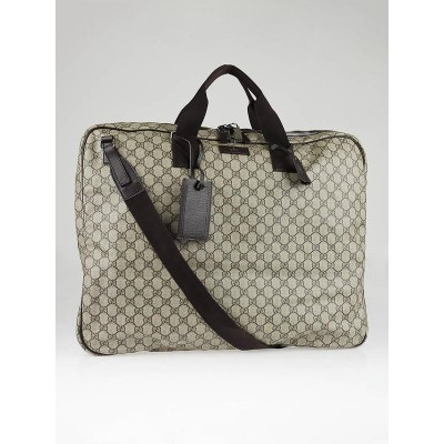 Gucci Beige/Ebony GG Coated Canvas Plus Garment Bag