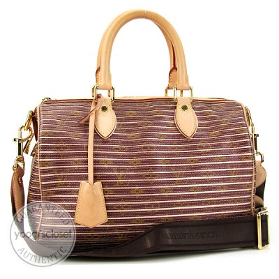 Louis Vuitton Limited Edition Monogram Canvas Eden Speedy Bag