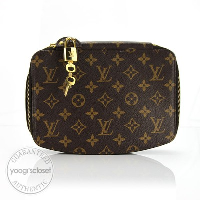 Louis Vuitton Monogram Canvas Monte Carlo Jewelry Travel Case