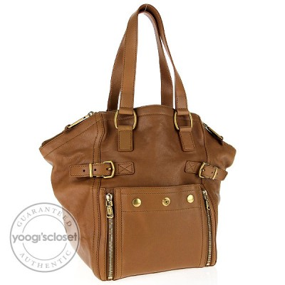 Yves Saint Laurent Natural Leather Downtown Small Tote Bag