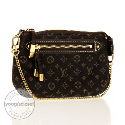 Louis Vuitton Monogram Idylle Mini Pochette Accessories Bag