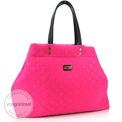 Louis Vuitton Fuchsia Monogram Scuba GM Bag