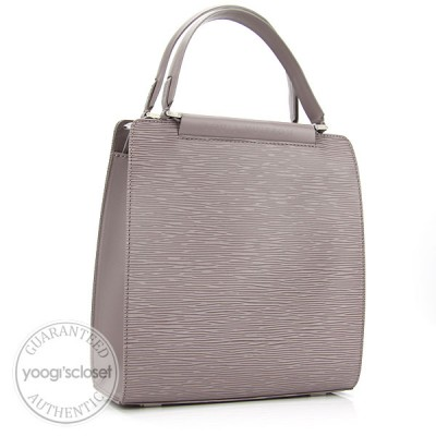 Louis Vuitton Lilac Epi Leather Figari PM Bag