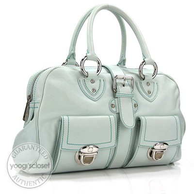 Marc Jacobs Seafoam Venetia Satchel Bag