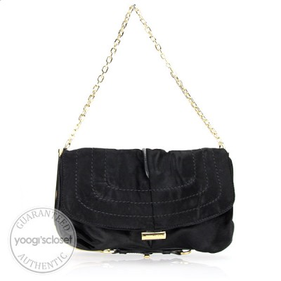Jimmy Choo Black Pony Hair Arad Clutch Bag